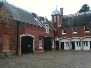 Lynford Hall Courtyard