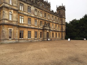 Highclere Castle - Courtyard